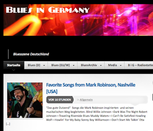 Blues in Germany screenshot